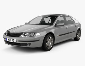 3D model Renault Laguna liftback 2000
