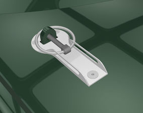 3D Bonnet racing locks