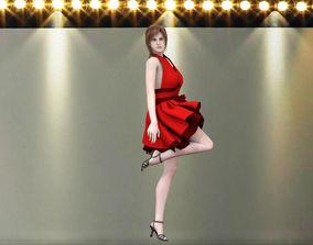 Catwalk girl 3D