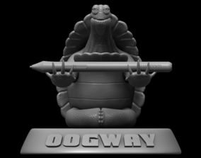 Oogway Kung Fu panda fu 3D print model