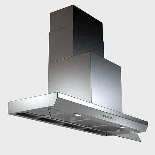 hood - virgola - by falmec 3d model max obj mtl 1