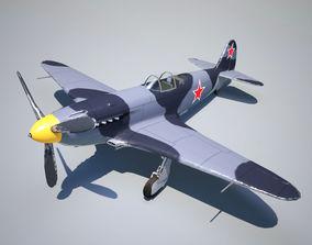 Yak-3 3D asset