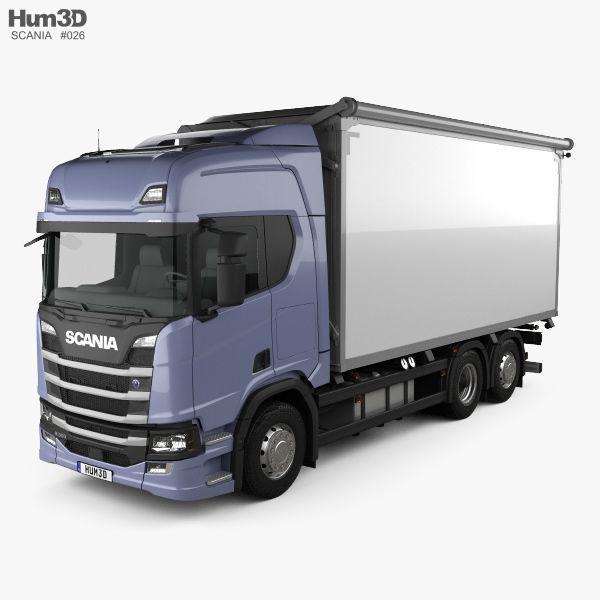 Scania R500 Highline Box Truck 2016