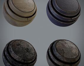 3D Smart Wood Material