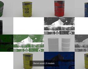 3D Barrel asset