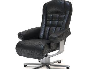 work Office Chair 3D model VR / AR ready