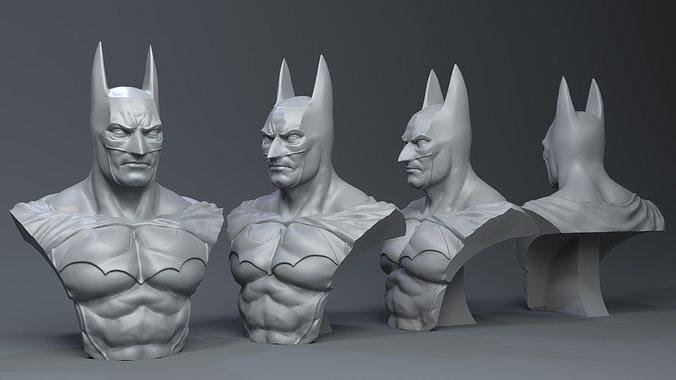batman  3d model obj mtl stl ztl 1