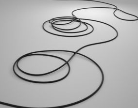 Floor Wire architectural 3D model