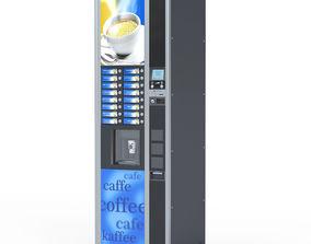 street Coffee vending machine 3D model