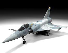 Mirage 2000 Lowpoly 3D model
