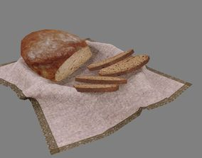 Food item 3D asset