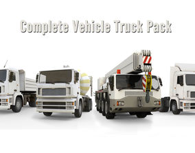 3D model Complete Vehicle Truck Pack