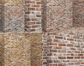 3D model Material seamless - Bricks - Tiles