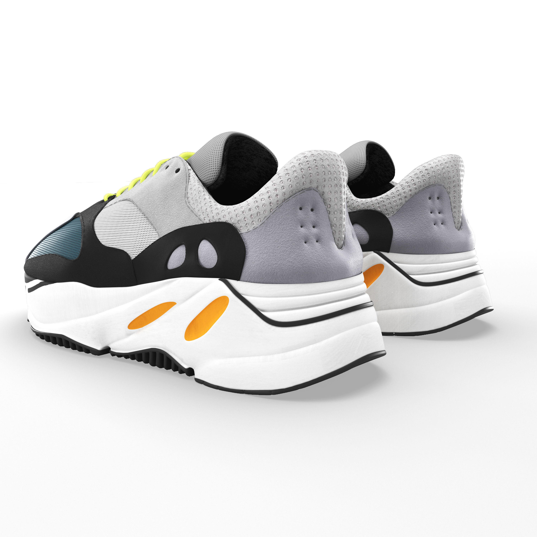 3563b9aff6b3 ... adidas yeezy wave 700 3d model max obj mtl fbx mat 2 ...