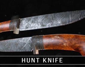 3D asset Hunt knife PBR