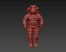 Astronaut space suit model
