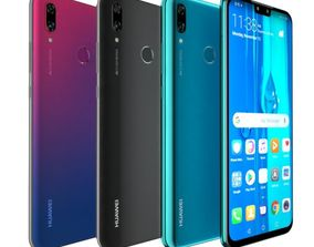 3D model Huawei Y9 2019 All Color