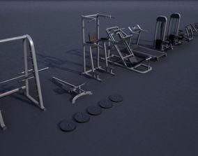 Gym Props PACK 02 3D model