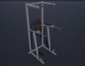 Power Tower 3D model VR / AR ready