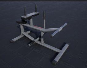 3D asset Seated Calf Raise