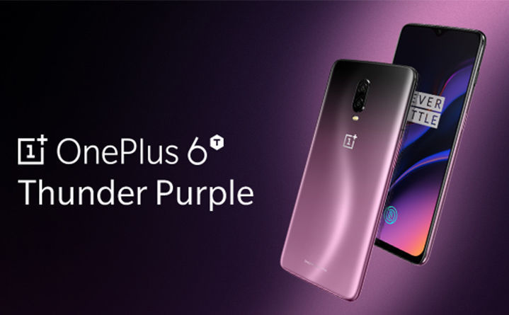 Oneplus 6T Thunder Purple 3D Model