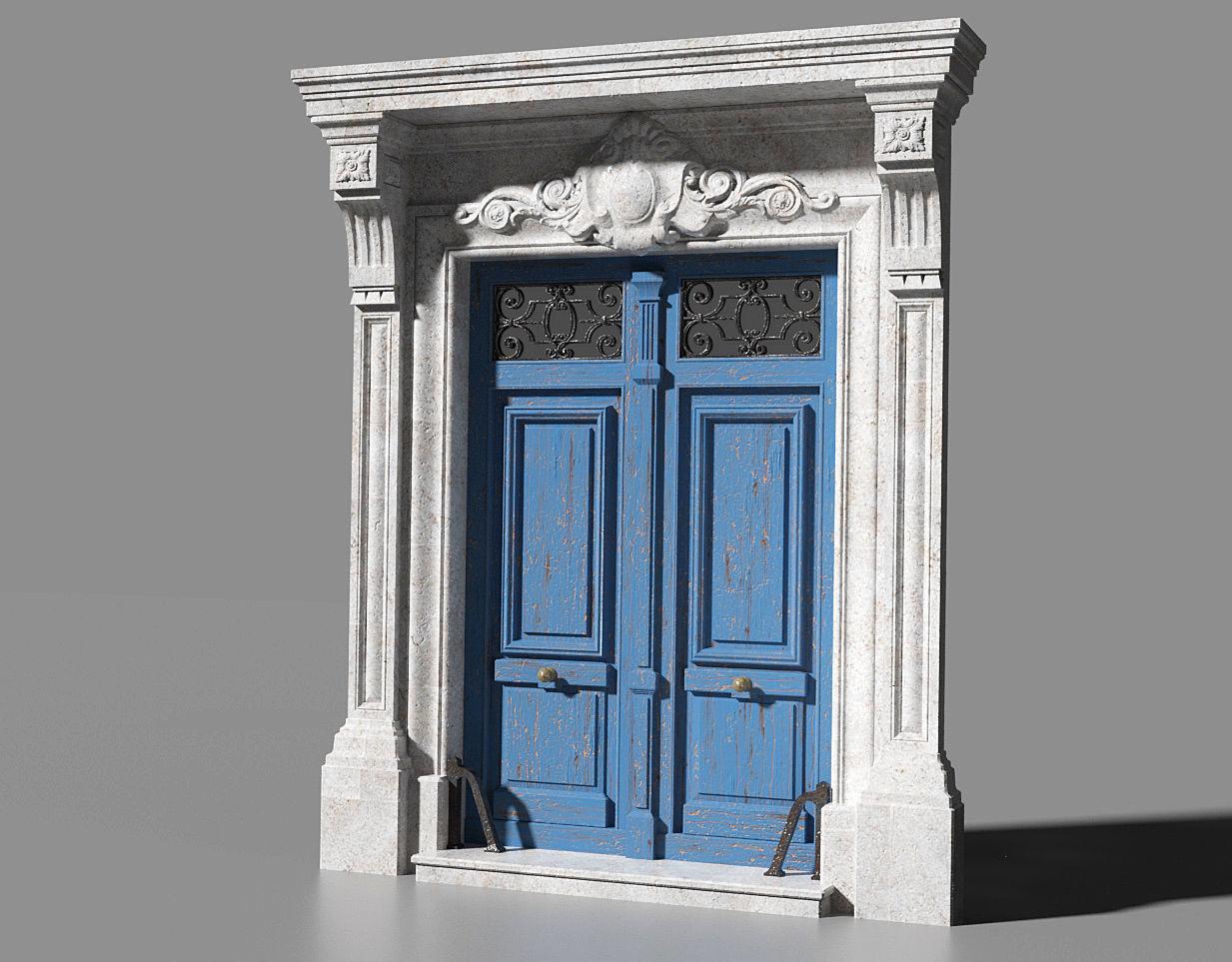 Neoclassic door