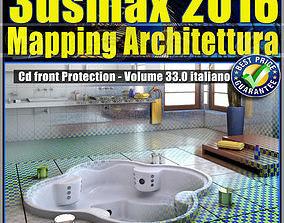 033 3ds max 2016 Mapping Architettura vol 33 Italiano cd