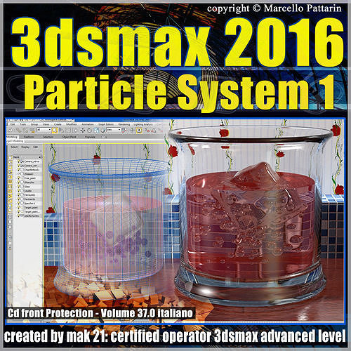 037 3ds max 2016 particle system 1 volume 37 cd front 3d model max pdf 1