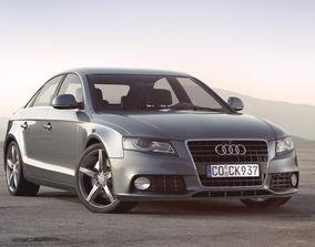 3D model Audi A4 2009