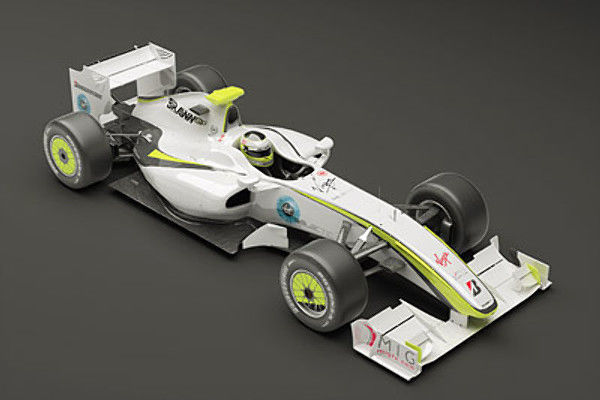 Brawn GP F1 2009 Mental Ray