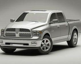 3D model Dodge RAM 2009