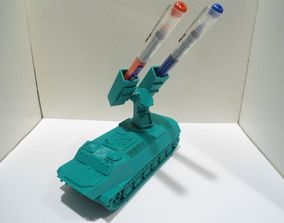 3D printable model Missiles Launcher Pen and Pencil holder