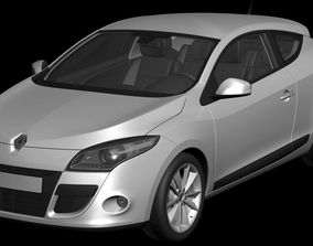3D model Renault Megane Coupe car