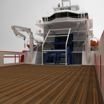 anchor handling tug supply ship 01 3d model max obj 3ds fbx 15