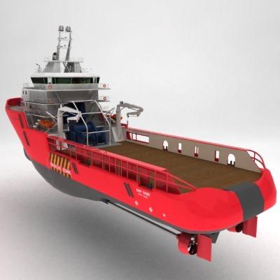 anchor handling tug supply ship 01 3d model max obj 3ds fbx 3