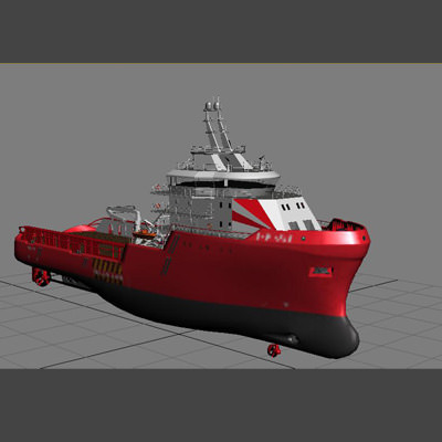 anchor handling tug supply ship 01 3d model max obj 3ds fbx 22