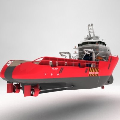 anchor handling tug supply ship 01 3d model max obj 3ds fbx 2