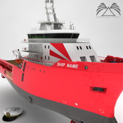 Anchor Handling Tug Supply Ship 01