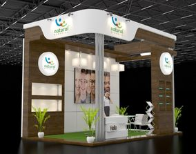 3D model display Exhibition stand design