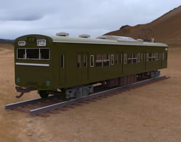 3D Kumoha 103 Passenger Car