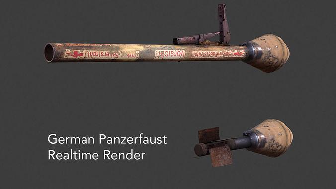 German Panzerfaust WWII Panzer