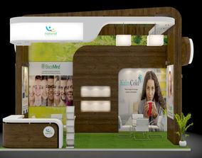 3D model Exhibition stand design 3