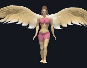 3D angel animated