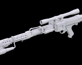3D print model DLT-19D blaster rifle