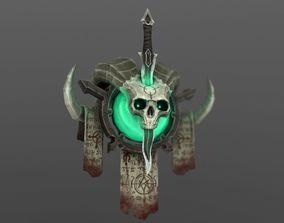 3D asset Necro Class Sigil