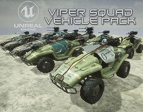 Viper Squad Vehicle pack 3D model