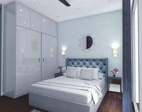 Residential interior design 3D model