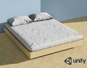 low-poly Enlight 3D Furnishing - Bed 05
