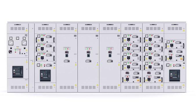 complete transformer substations for internal installation  3d model max obj mtl fbx stl 1