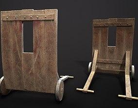 3D model Medieval Mantlet